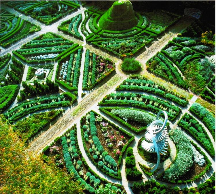 Beautiful Gardens Garden of Cosmic Speculation Photograph