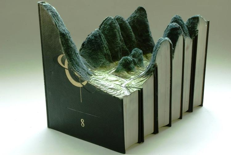 Guy Laramee Book Art Picture