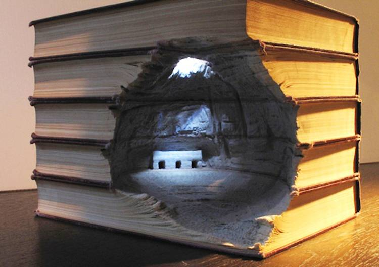 Four Brilliant Book Sculpture Artists