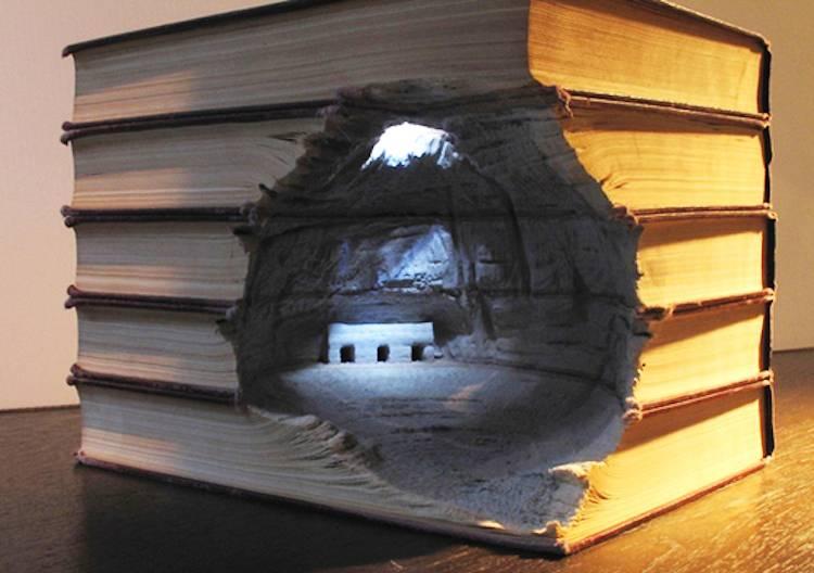 Four Brilliant Book Sculpture Artists