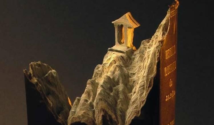 Brilliant Book Sculpture Artists Guy Laramee