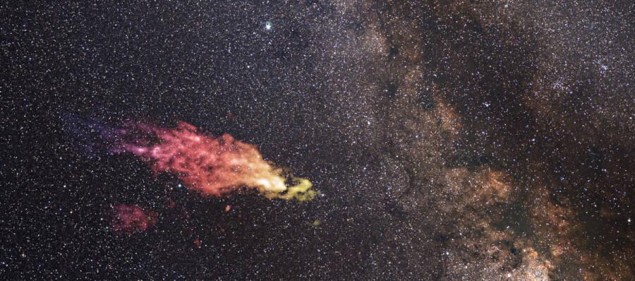 Cloud Boomerang Into Milky Way