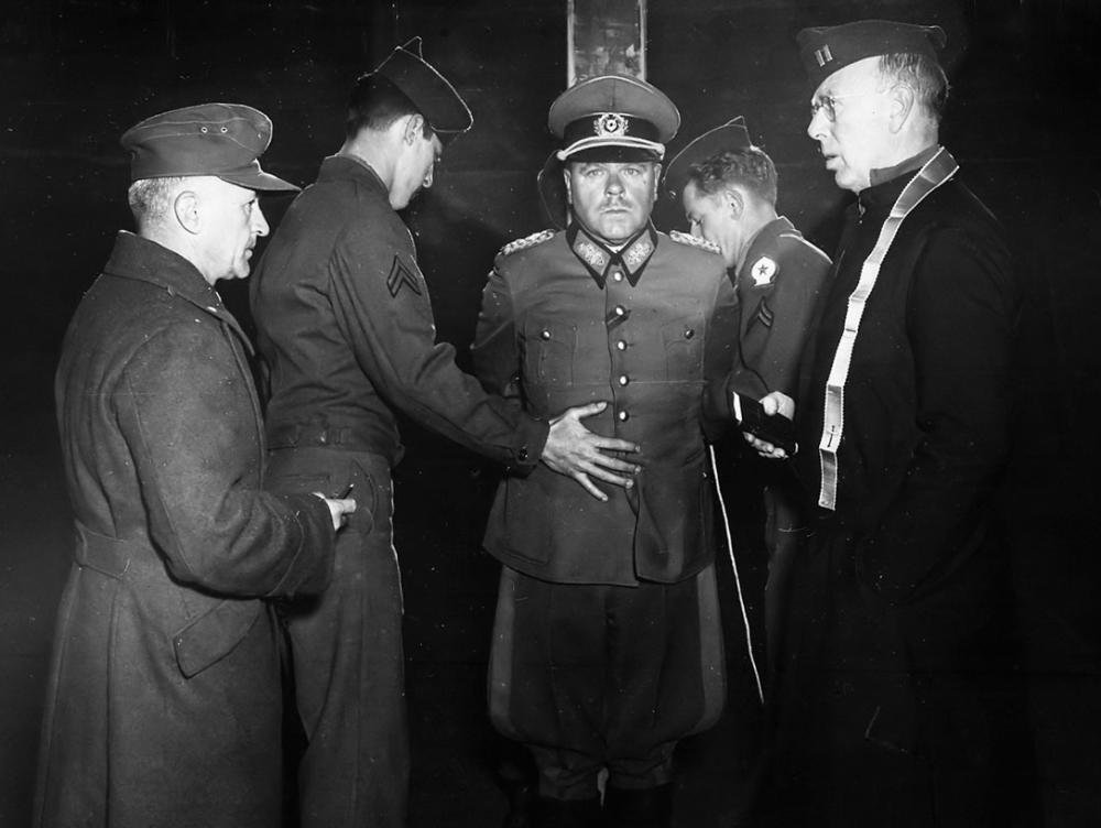 Nazi Execution of Nazi General Dostler Photo