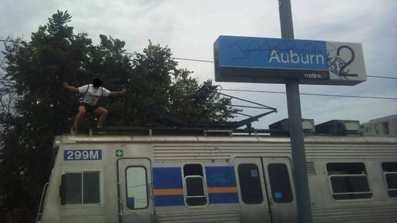 Train Surfing