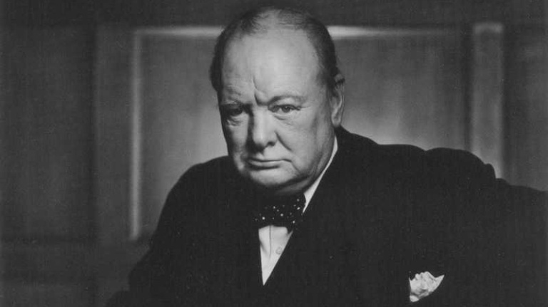 Winston Churchill Retort