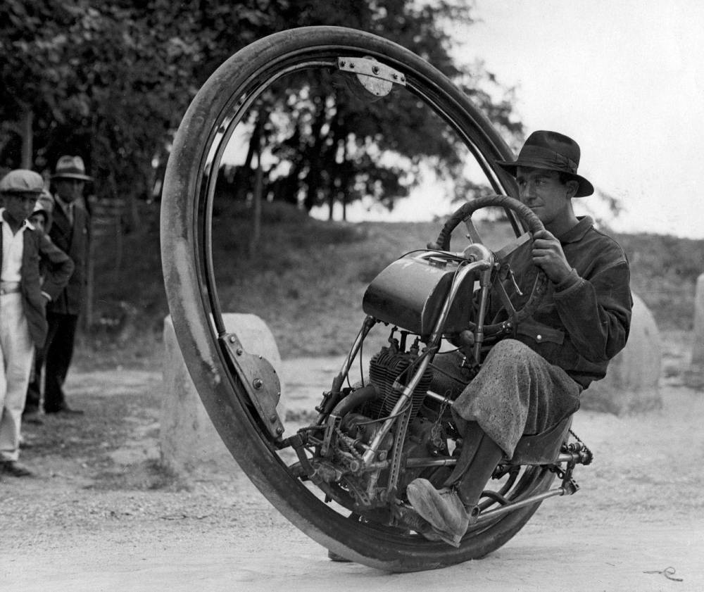 Goventosa Monowheel Motorcycle
