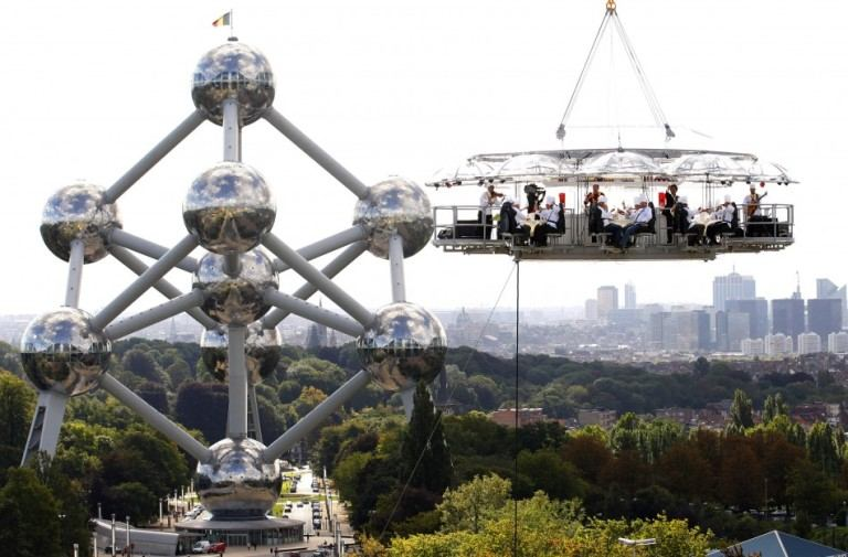 Dinner In The Sky at Belgium