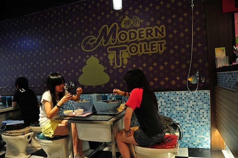 Most Bizarre Restaurants Marton Taiwan
