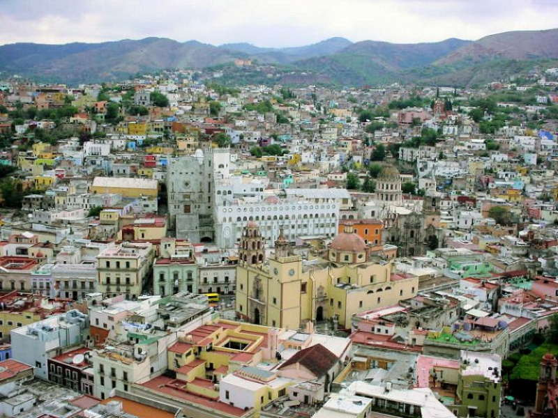 Most Colorful Cities In The World Guanajuato