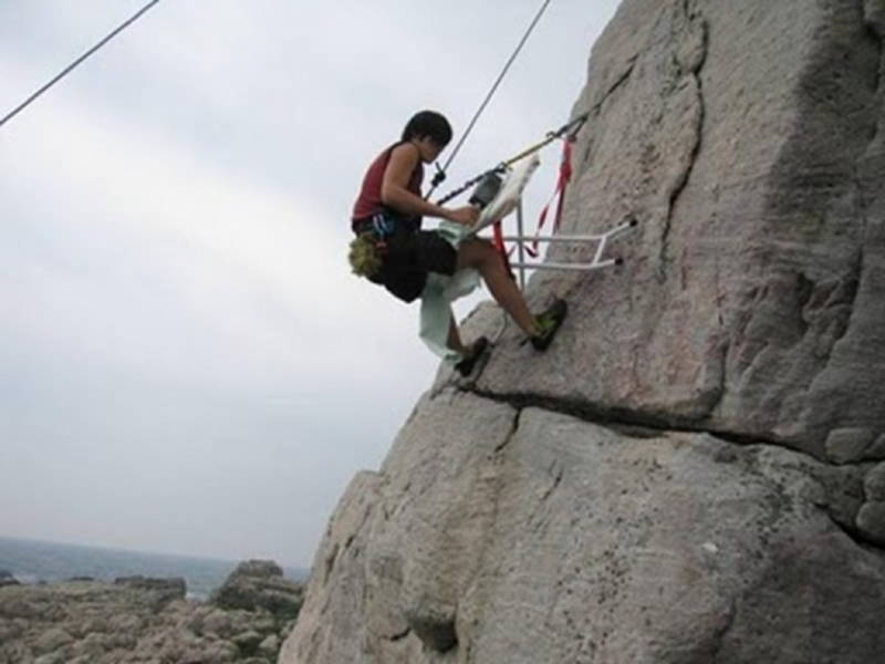 Obscure Sports Extreme Ironing