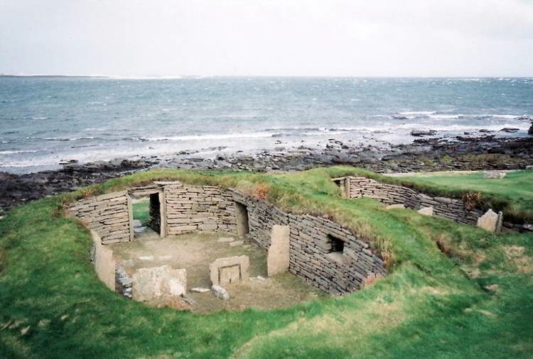 Knap Of Howar Photograph