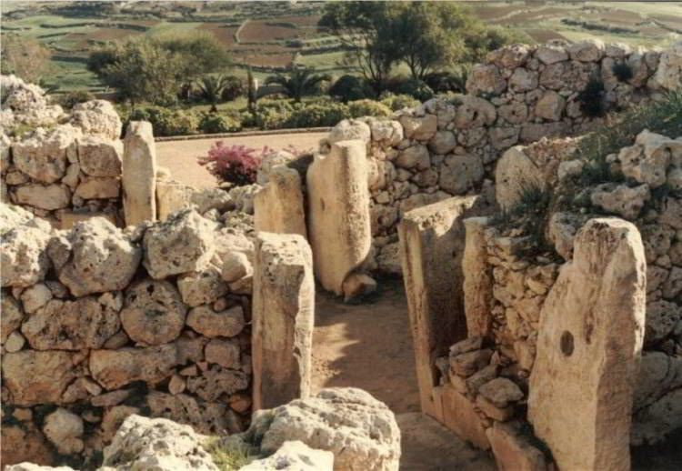 Megalithic Temples In Malta