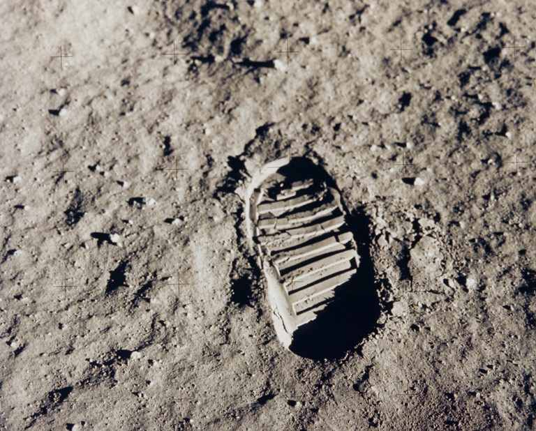 Interesting Space Facts Foot Step