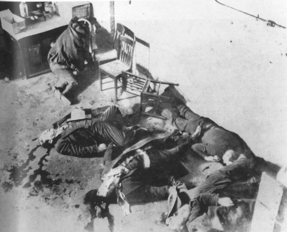 1929 St. Valentine's Day Massacre Photo