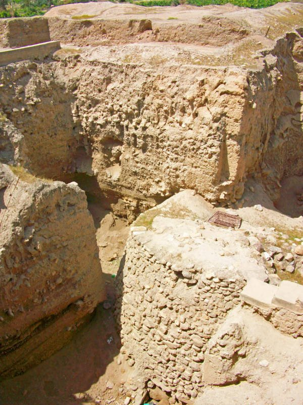 Excavated Jericho Wall