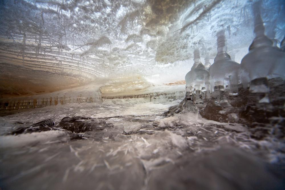 Frozen Water World