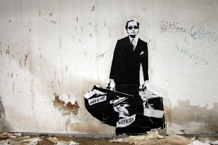 Blek Le Rat Graffiti Aritst