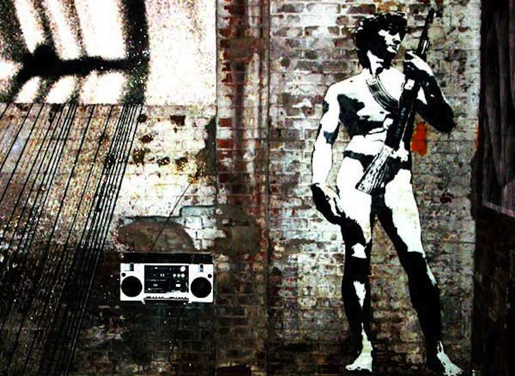 Four Awesome Graffiti Artists Blek Le Rat