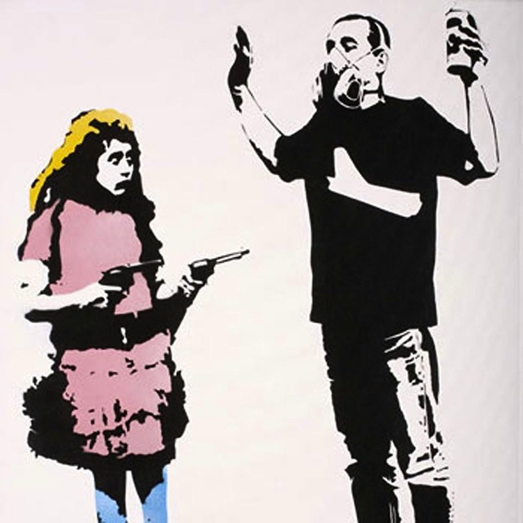 Graffiti Artists Blek Le Rat