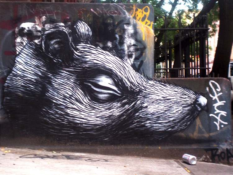 Awesome Graffiti Artists Blek Le Rat