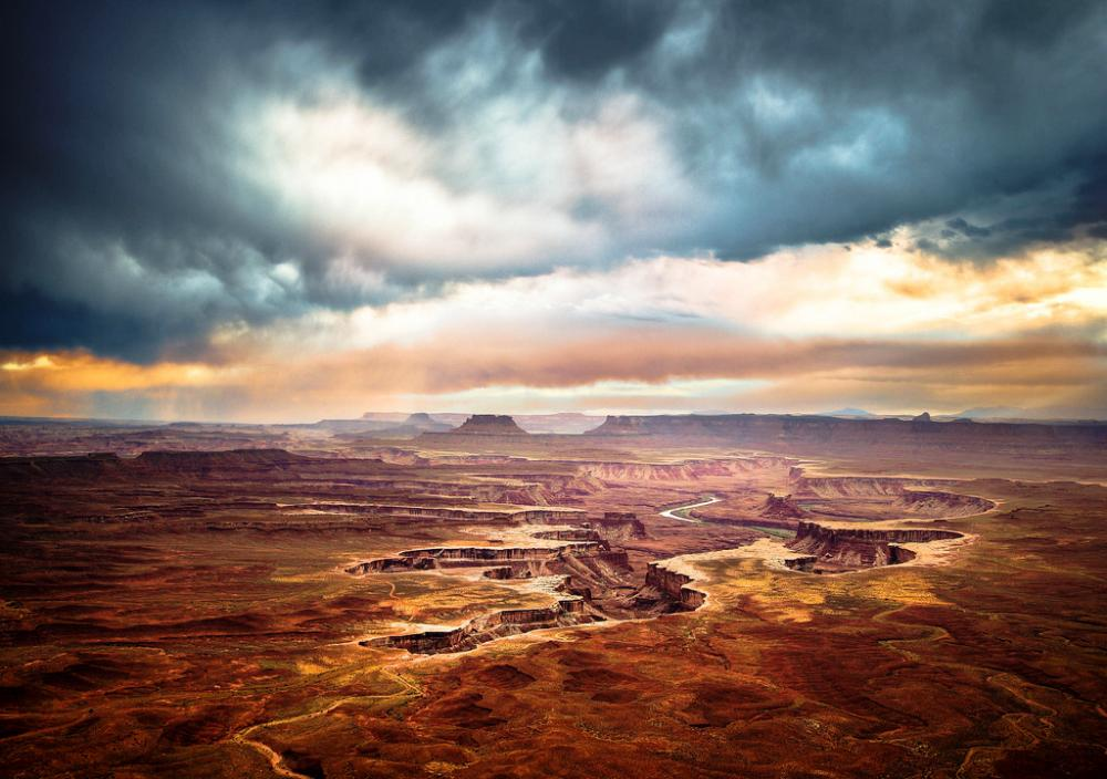Utah Green River Canyonlands Photogarph