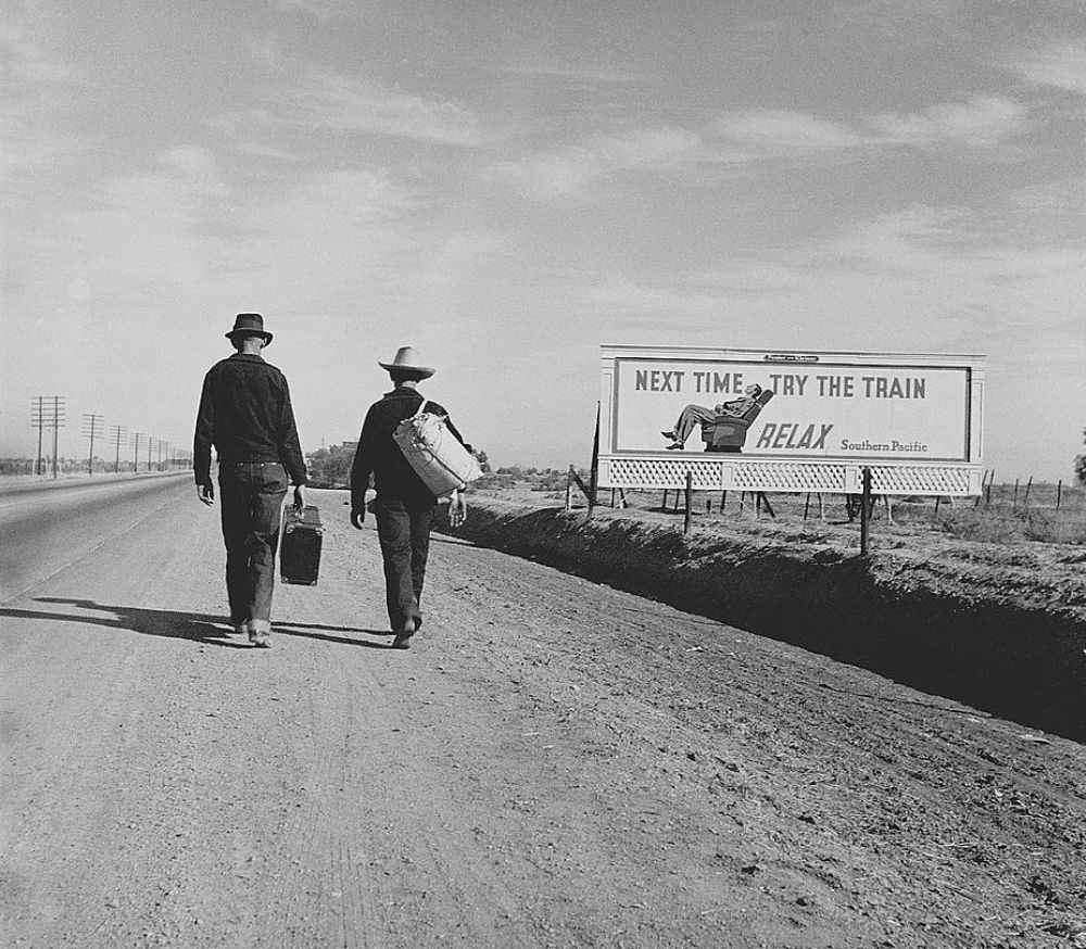 Hitchhike to LA 1937