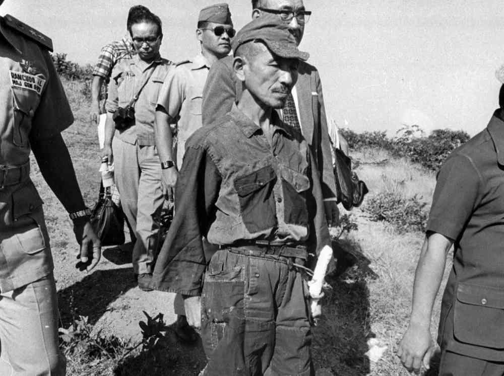 Japanese Officer Hiroo Onoda Surrenders 1974 Photograph