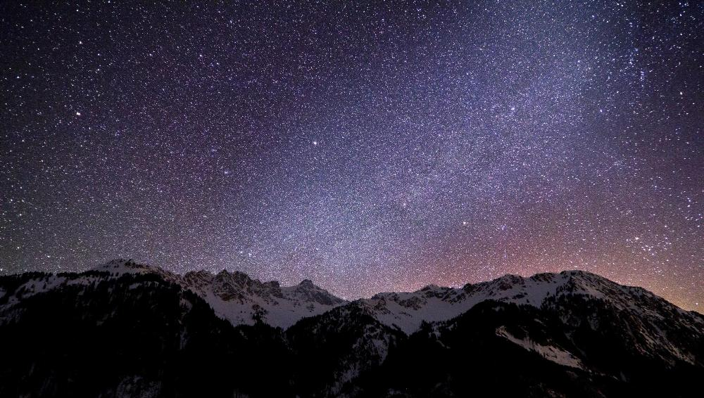 Dreamy German Night Sky