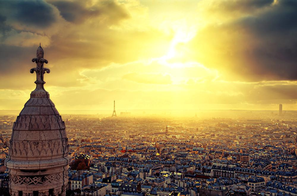 France From Sacre Coeur