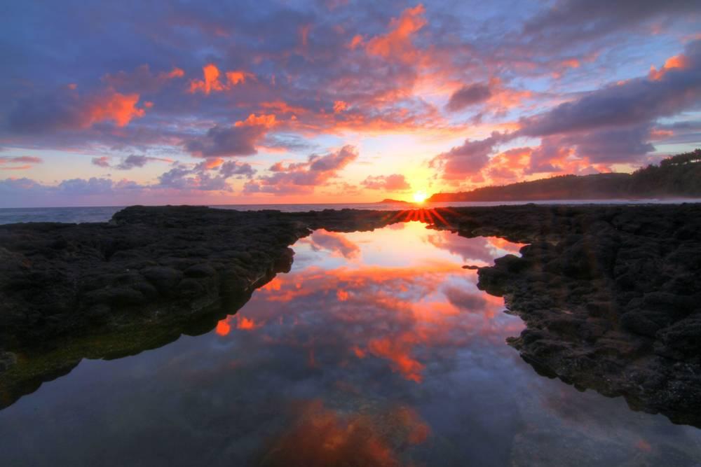 Stunning Sunrise Hawaii