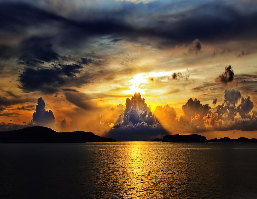Glorious Swedish Sunset Photograph