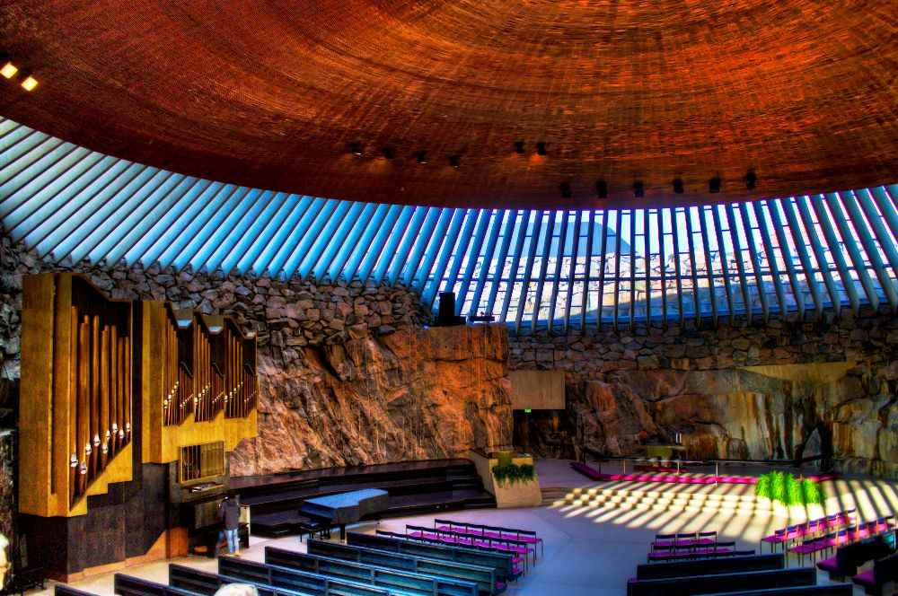 Temppeliaukio Church Photograph