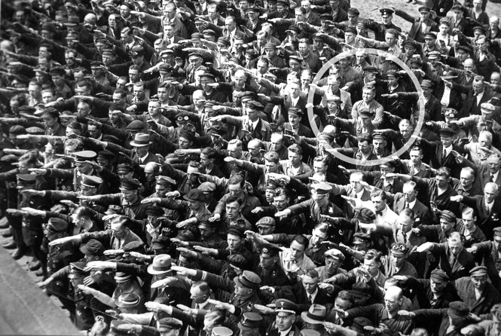The Man Who Didn't Salute Hitler August Landmesser