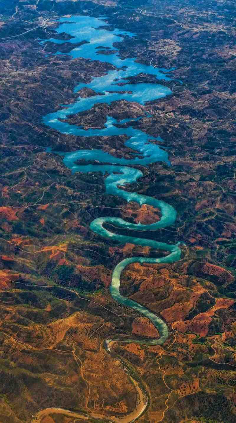 Blue Dragon River Photograph