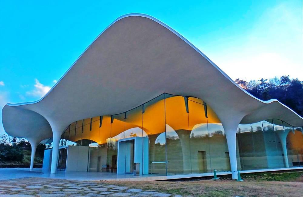 Japan Contemporary Crematorium