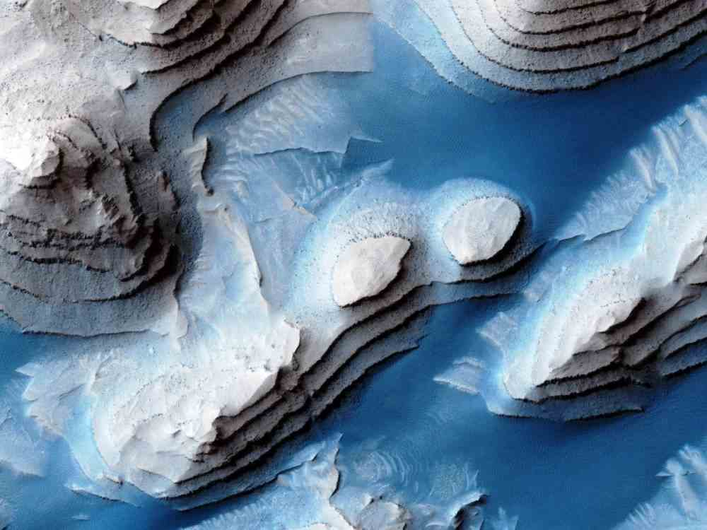 danielson crater mars A Peek At The Peaks Of Mars Danielson Crater