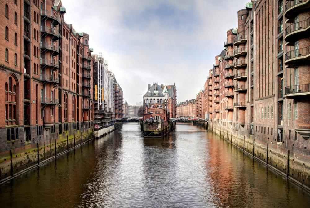 Gentle Waters Hamburg Germany Photograph