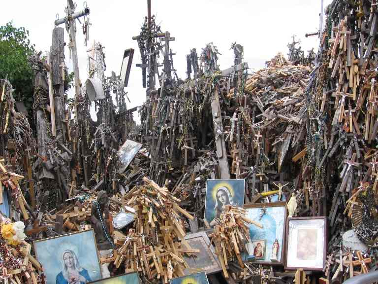 Hill of Crosses Picture