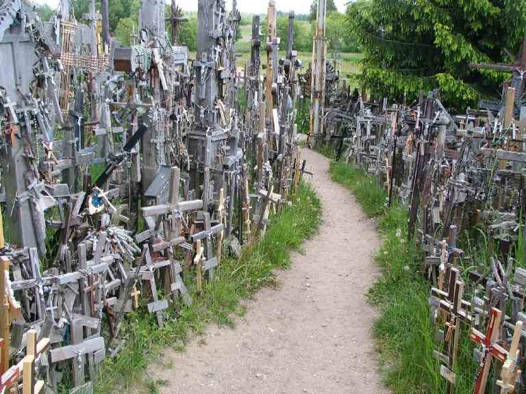 Lithuania's Hallowed Hill Of Crosses
