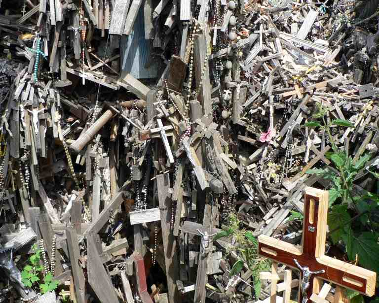 Lithuania's Hill Of Crosses