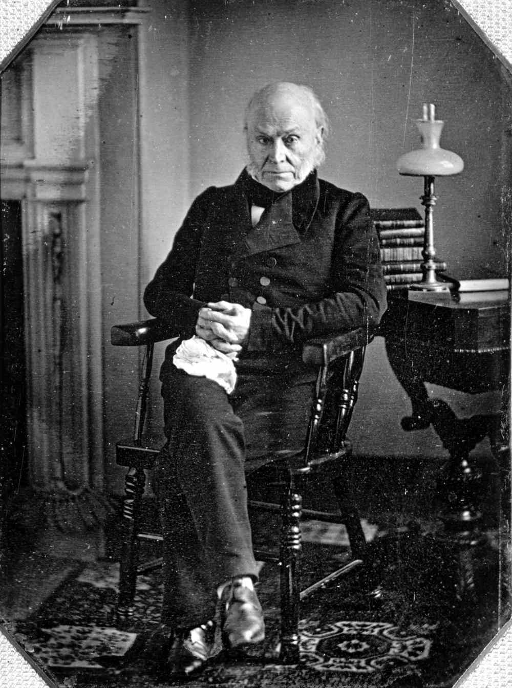John Quincy Adams First Photograph Of President