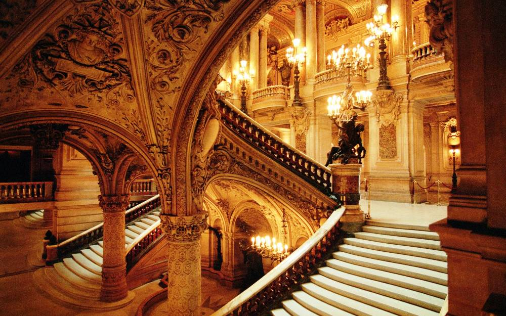 Paris Opera Garnier Photo