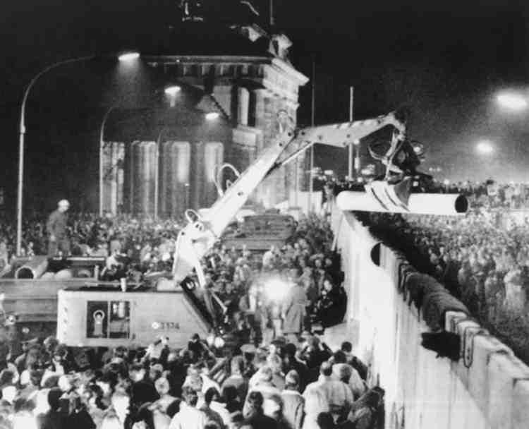 Διαμαρτύρεται ιστορία του τείχους του Βερολίνου