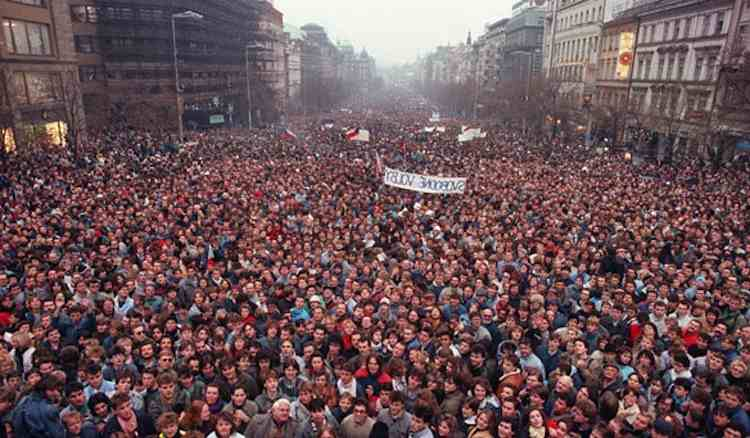 Berlin Wall Protest