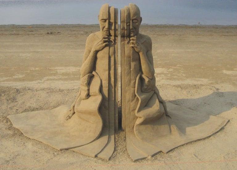 Sand Art Photograph