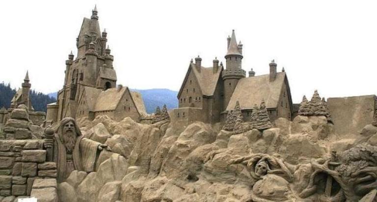 Sand Art Contest
