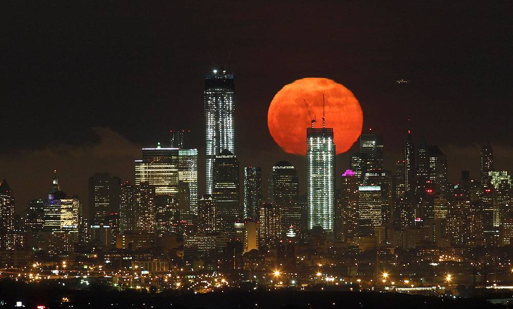 Sublime SuperMoon New York City
