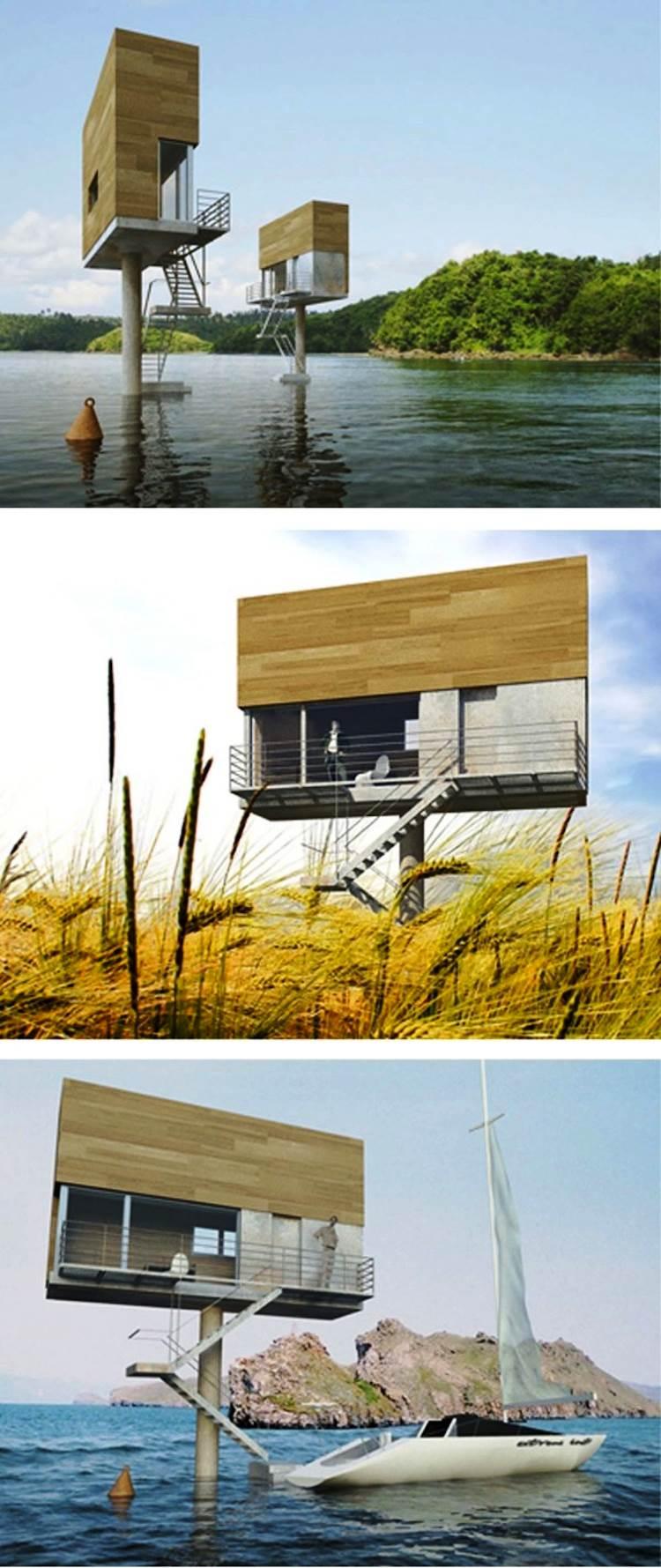 Single Hauz Smallest Living Structures
