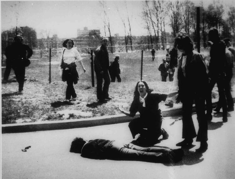 Iconic Images 1970s Kent State Shooting