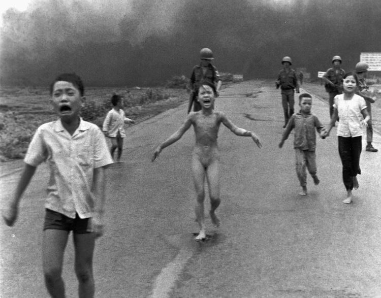 Iconic Images Of The 1970s Napalm Girl
